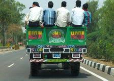Sulla strada in India Immagine Stock Libera da Diritti