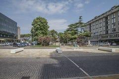 Sulla vacanza in Lido di Jesolo (intorno alla città) Fotografia Stock