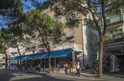 Sulla vacanza in Lido di Jesolo (intorno alla città) Immagini Stock