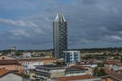 Sulla vacanza in Lido di Jesolo (torre di Jesolo-Aquileia) Fotografia Stock