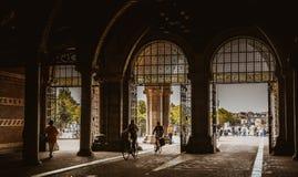 Sulla via a Amsterdam Fotografia Stock Libera da Diritti