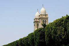 Sulla via principale - Tunisi Fotografia Stock
