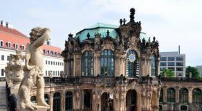 Sulle pareti di Dresda Zwinger Fotografia Stock Libera da Diritti