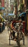 Sulle vie di Dacca Fotografia Stock
