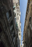 Sulle vie di Venezia Fotografia Stock