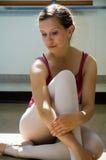 Sullen Ballerina Royalty Free Stock Photo