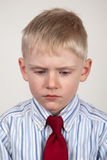 Sullen child Stock Images