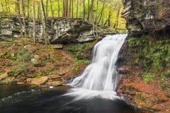 Sullivan Falls in Pensilvania Immagini Stock Libere da Diritti