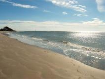 Sullivan-` s Insel-schimmerndes Wasser stockfotos