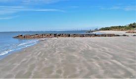 Sullivan-` s Insel, South Carolina lizenzfreie stockbilder