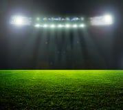 Sullo stadio. Fotografia Stock
