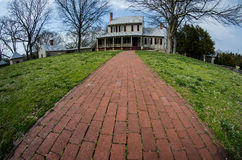 Sully Historical Site Plantation in Chantilly Virginia stock photo