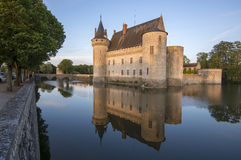 Sully-sur-Loire. Chateau of the Loire Valley, France Royalty Free Stock Photo