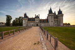 Sully-sur-loire. France. Chateau of the Loire Valley. Stock Photos