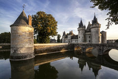 Sully-sur-loire. France. Chateau of the Loire Valley. Sully-sur-loire. Chateau of the Loire Valley Royalty Free Stock Images