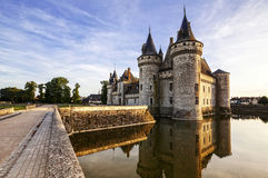 Sully-sur-loire. France. Stock Images