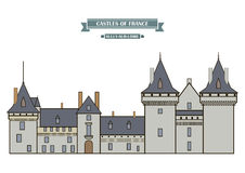 Sully-sur-Loire, France Royalty Free Stock Photography