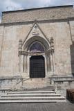 Sulmona Abruzzi, Itália, igreja de San Filippo Neri imagens de stock royalty free