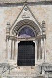 Sulmona Abruzzi, Itália, igreja de San Filippo Neri fotografia de stock