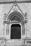 Sulmona Abruzzi, Italien, San Filippo Neri kyrka arkivbilder