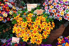 Sulmona bonito e colorido dos fatos dos confetes Fotos de Stock Royalty Free