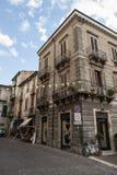 Sulmona Oude stad in Abruzzo bergengebied Stock Fotografie