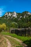 Sulov balança - o ¡ do ov Hradnà do ¾ de SúÄ,  a de BytÄ, Eslováquia Foto de Stock