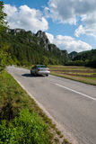 Sulov oscilla - il ¡ del ¾ OV Hradnà di SúÄ,  a, Slovacchia di BytÄ Fotografia Stock Libera da Diritti