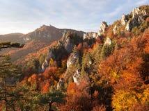 Sulov rockies - sulovske skaly - Slovakia Stock Photos