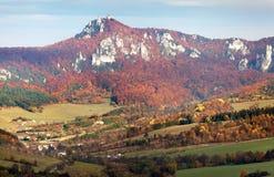 Sulov rockies - sulovske skaly - Slovakia Royalty Free Stock Image