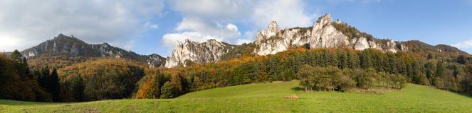 Sulov rockies - sulovske skaly - Slovakia Stock Image