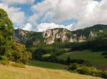 Sulov rocks - Súľov Hradná, Bytča, Slovakia. National nature reserve situated within the Súľov Mountains region of Slovakia Stock Photo