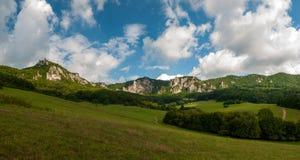Sulov rocks - Súľov Hradná, Bytča, Slovakia. National nature reserve situated within the Súľov Mountains region of Slovakia Stock Photos