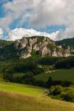 Sulov rocks - Súľov Hradná, Bytča, Slovakia. National nature reserve situated within the Súľov Mountains region of Slovakia Royalty Free Stock Photos