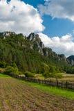 Sulov rocks - Súľov Hradná, Bytča, Slovakia. National nature reserve situated within the Súľov Mountains region of Slovakia Royalty Free Stock Photo