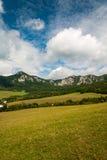 Sulov rocks - Súľov Hradná, Bytča, Slovakia. National nature reserve situated within the Súľov Mountains region of Slovakia Stock Images