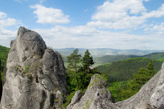 Sulov Rocks view Royalty Free Stock Photography