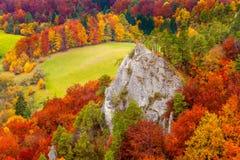 Sulovske skaly, la Slovacchia Fotografia Stock