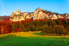 Sulovske skaly, Slovakia Royalty Free Stock Photo