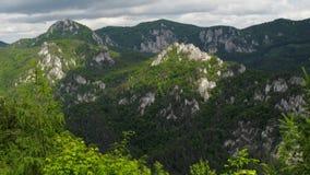 Sulovske skaly in Slovakia royalty free stock images
