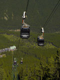 Sulpher mountain gondola Royalty Free Stock Photo