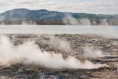 Sulphur Bay at lake Rotorua Stock Images