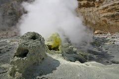 sulphur för aktiv källa Arkivbilder