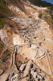 Sulphur mining industry Royalty Free Stock Images