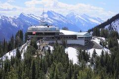 Sulphur mountain. Royalty Free Stock Images