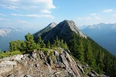 Sulphur mountain Royalty Free Stock Image