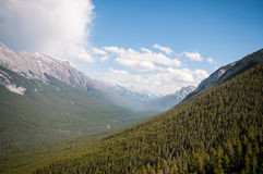 Sulphur mountain  Royalty Free Stock Photography
