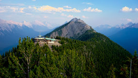 Sulphur Mountain, Banff, Alberta, Canada Stock Images