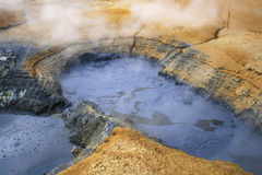 Sulphuric earth Stock Images