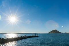 Sulphur Point scenery, Tauranga. Stock Photo